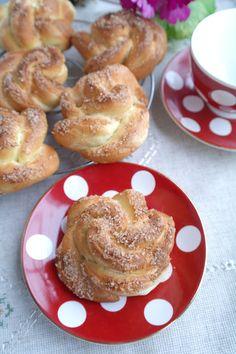 Имбирные булочки с корицей