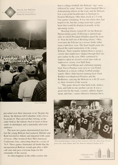 Athena yearbook, 2000. Homecoming game 1999. :: Ohio University Archives