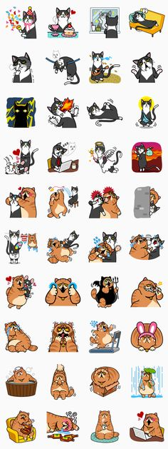 Meow Me 2 - LINE Stickers