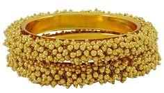 Matra Goldtone Ethnic Bollywood 2 Pcs Indian Women Bangle Set Kada Bracelet Jewellery 2*6 ** You can get additional details at the image link. #Bracelets