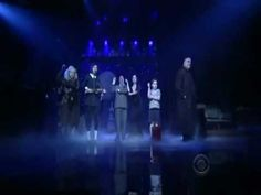 The Addams Family musical on The Late Show.  Love.