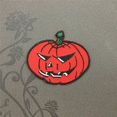 Pumpkin patch Individuality Hat patches Halloween patches Embroidered Iron-On Patches sew on patches