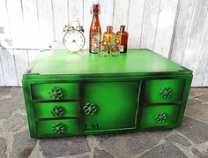 #Vintage Kästchen ♥# Beistelltisch im #Industriestil von Gerne Wieder.GbR auf DaWanda.com #IndustrialCabinet #IndustrialStorage #loftdesign