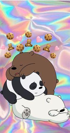 Cute Tumblr Wallpaper, Cute Panda Wallpaper, Cartoon Wallpaper Iphone, Bear Wallpaper, Cute Disney Wallpaper, Kawaii Wallpaper, Cute Wallpaper Backgrounds, Galaxy Wallpaper, Dont Touch My Phone Wallpapers