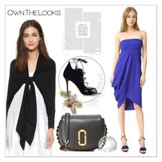 """""""Make Your Mark!!"""" by stylediva20 ❤ liked on Polyvore featuring Malone Souliers, Zero + Maria Cornejo and Marc Jacobs"""