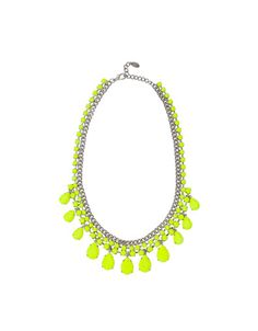 zara neon necklace