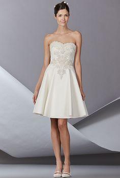 Brides.com: Carolina Herrera - Fall 2014. Wedding dress by Carolina Herrera