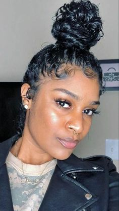 hairstyles on short hair hair vancouver hairstyles hairstyles black girl hairstyles crochet hairstyles down for prom hairstyles dances curly hairstyles Lazy Hairstyles, Baddie Hairstyles, Pretty Hairstyles, Braided Hairstyles, Pelo Natural, Natural Hair Tips, Natural Hair Styles, Natural Hair Ponytail, Curly Prom Hair