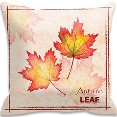 Capa Almofada Folhas de Outono