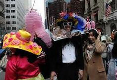 Easter Parade Crazy hats & costumes fill streets of New York City New York Street, New York City, Crazy Hats, Easter Parade, Bing Images, Nyc, Costumes, Lady, Celebrities