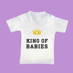 """ΜΠΛΟΥΖΑΚΙ ΜΩΡΟΥΔΙΑΚΟ """"KING OF BABIES"""""""
