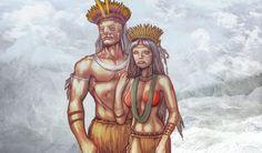 Como é a mitologia tupi-guarani? Indigenous Tribes, Mother Of Dragons, Deities, Folklore, Wicca, Neko, Mythology, Supernatural, Brazil