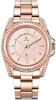 Online shopping from a great selection at Watches Store. Gold Watch, School Stuff, Calendar, Quartz, Watches, Elegant, Accessories, Shopping, Classy