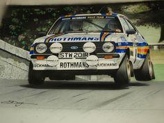 ROTHMANS FORD ESCORT RS1800 1000 LAKES RAC GB MONTE CARLO SWEDISH CYPRUS RALLY
