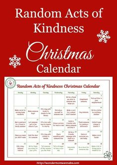 This random acts of kindness Christmas calendar was created just for kids. They'… This random acts of kindness Christmas calendar was created just for kids. They're all acts of kindness that kids can do on their own. Christmas Calendar, Kids Calendar, Christmas Games, Christmas Activities, All Things Christmas, Winter Christmas, Christmas Crafts, Merry Christmas, Christmas Decorations