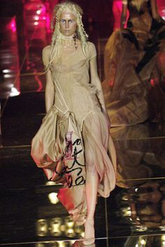 John Galliano for Christian Dior Spring/Summer 2006 Haute Couture. Inspired by the French Revolution.