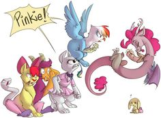 wouldn't this be funny if this happened in #MLPSeason5 I say it should be an episode. #brony #bronies