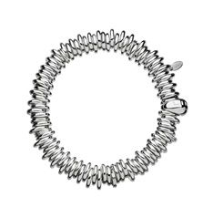 (Large) This Sterling Silver Sweetie bracelet is a tactile and fun alternative to the charm bracelet with an expandable circumference. The iconic Sweetie charm bracelet will become your most beloved jewellery piece once you have personalised it with special charms. Available in small (150mm), medium (160mm) and large (170mm).