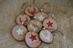 Set  8 x  Baumschmuck Sterne Holz von Majalino auf DaWanda.com …