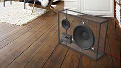 Clear speaker unit to feature on kickstarter