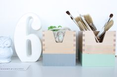 10 Awesome Office Organization DIY's