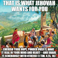Great WT lesson for the week!  Praise Jehovah! And our King Jesus For All The Love!!!!!!