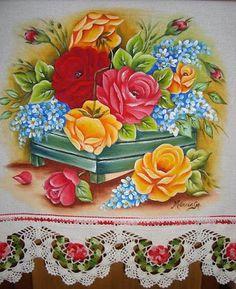 Artes em Crochê e Pintura: Abril 2011