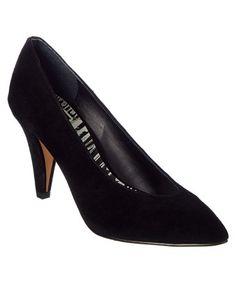 Dolce Vita Luella Suede Pump In Black High Heel Pumps, Pumps Heels, Stocking Tights, Black Suede Pumps, Court Shoes, Kitten Heels, Shopping, Style, Fashion