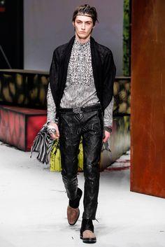Roberto Cavalli Fall 2014 Menswear - Collection - Gallery - Style.com