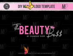 MAKEUP LOGO DESIGN beauty Logo Logo design Logo Premade | Etsy M Beauty, Beauty Logo, Logo Templates, Logo Design, Logos, News, Makeup, Make Up, Face Makeup