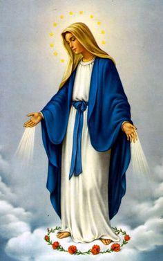 La Vierge-Marie prie à vos intentions de prières