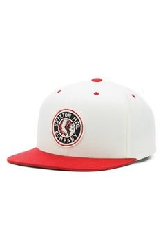 Men s Brixton  Rival  Snapback Cap - White Meant To Be bc3c5c79f4b