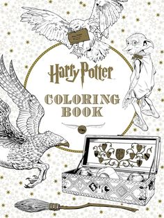 A Harry Potter coloring book that lets you color your favorite scenes when you have limited artistic talent.