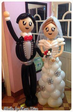 My wedding couple