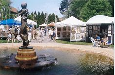 The Annual Virtu Art Festival in Picturesque Wilcox Park, Downtown Westerly, RI
