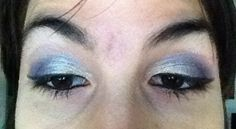Make up white and blue
