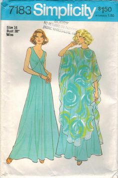 1970s Simplicity 7183 UNCUT Vintage Sewing by midvalecottage
