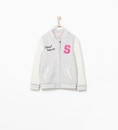 LETTER DETAIL BASEBALL JACKET - Jogging - Girl - COLLECTION SS15 | ZARA United Kingdom