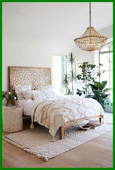 Boho Bedroom Decor has been growing in popularity with a lot of people for a reason. When it comes to decorating small spaces in your home, this design type is perfect for just about any type of room or space. Diy Home Decor For Apartments, Home Decor Shops, Bohemian Bedrooms, Bohemian Bedroom Design, Boho Chic Bedroom, Stylish Bedroom, Diy Casa, Mediterranean Decor, Mediterranean Architecture