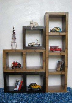 Librerie componibili - Libreria componibile di bamboo