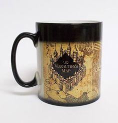 Harry Potter Marauder's Map Reveal Mug