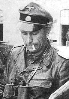 Waffen SS Sturmbannführer Karl-Heinz Prinz