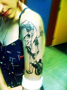 Sherri Dupree Bemis from the band, Eisley.  She drew this herself! <3
