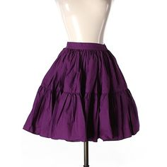 Pre-owned Juicy Couture Casual Skirt ($30) ❤ liked on Polyvore featuring skirts, dark purple, juicy couture and purple skirt