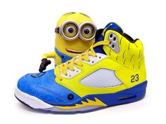 "Air Jordan 5 ""Minion"" By Sekure D"