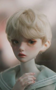 Anime Dolls, Bjd Dolls, Pretty Dolls, Beautiful Dolls, Smart Doll, Aesthetic Drawing, Doll Repaint, Beauty Art, Custom Dolls