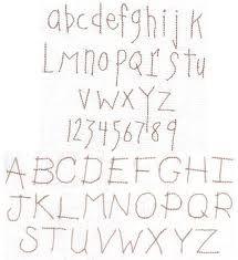 Primitive alphabet