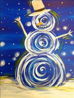 Snowman art