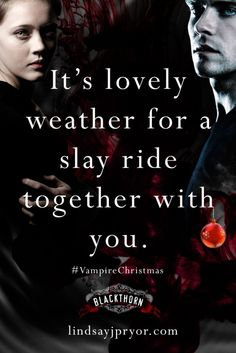 Vampire Christmas... lovely weather for a slay ride together with you.