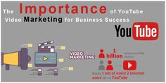 YouTube Marketing  Youtube marketing -.Once you have a business online then video marketing is the most excellent way to promote your site or company.